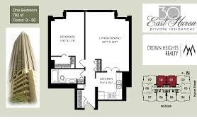 floors plans 30 east huron floor plans