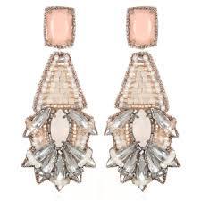 suzanna dai earrings suzanna dai navy gumball bon bon earrings hauteheadquarters