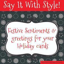 sentiments and greetings for cards
