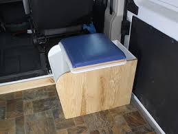 Conversion Van With Bathroom Promaster Diy Camper Van Conversion Diy Composting Toilet