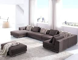 Curved Sofa Sectional Modern Sofa Brown Sectional Small Sectional Curved Sofa