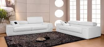 canap blanc 3 places canapé en cuir italien 2 places deux fauteuils