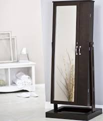 furniture you can close jewelry armoire with full length mirror