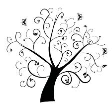 swirly tree clip library