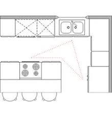 kitchen with island floor plans l shaped kitchen floor plans lightandwiregallery