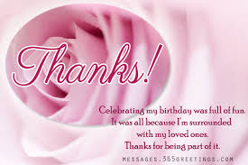 birthday thank you notes birthday thank you messages thank you for birthday wishes