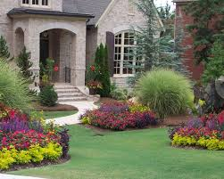 ideas of flower bed design front of house for your guidance