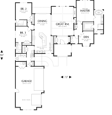 First Floor Plan House First Floor Plan Image Of Bridgeview House Plan Close Reconfigure