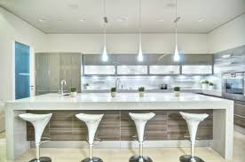 White Island Kitchen Kitchen Contemporary Kitchen With Large White Island Modern