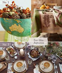 thanksgiving tabletop ideas from classic to a modern look at