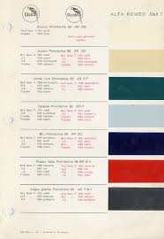 duetto factory colors alfa romeo bulletin board u0026 forums