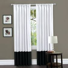 Navy And White Striped Curtains Black Curtains Living Room Large Size Of Black White Curtains