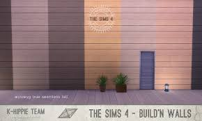 mod the sims 7 wood walls authentic horizontal volume 1