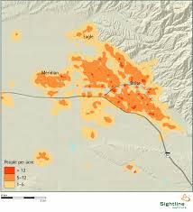 Population Density Map Boise Area Population Density Map Sightline Institute