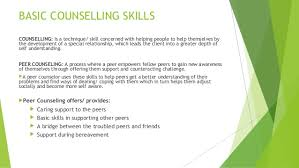 Difference Between Counselling Skills And Techniques Bcc And Basic Counselling Skills