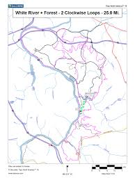 Yellow River Map Biltmore Trails