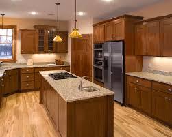 Dark Oak Cabinets Houzz - Kitchen backsplash ideas with dark oak cabinets