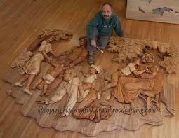 relief carving woodcarving and sculpting by fred zavadil