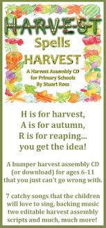 harvest festival poem acrostic poem for school