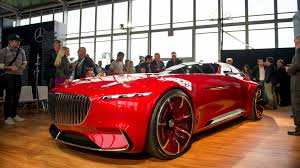 vision mercedes maybach 6 concept exudes timeless opulence