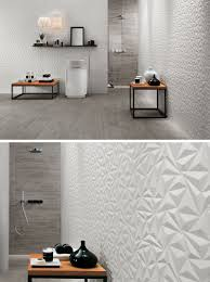Modern Tiling For Bathrooms Bathroom Tile Idea Install 3d Tiles To Add Texture To Your
