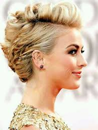 updo for short hair curls hairstyle picture magz