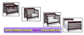 Canton 4 In 1 Convertible Crib Best Baby Cribs Review 2018 And Baby Zone