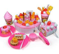 jeux de cuisine de gateaux d anniversaire ᐃ73 pcs enfants cuisine jouet gâteau d anniversaire jouets jeux de