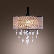 Crystal Drum Shade Chandelier Chandelier Style Light Shade Thesecretconsul Com