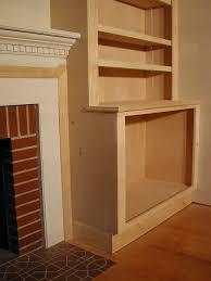 plans for building a book shelf around a fireplace book shelves shelves and books