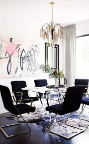 Glamorous Dining Rooms Get The Look 20 Mid Century Modern Glamorous Dining Room Rugs