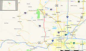 Map Colorado by Colorado State Highway 93 Wikipedia