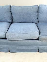 igavel auctions eddie bauer contemporary denim upholstered