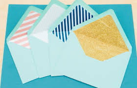 how to make your own envelope how to make your own envelope liners allfreediyweddings com