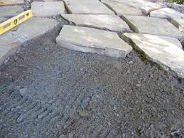 How To Make A Rock Patio by Make A Flagstone Patio