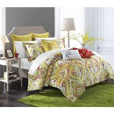 better homes and gardens midnight paisley 5 piece comforter set
