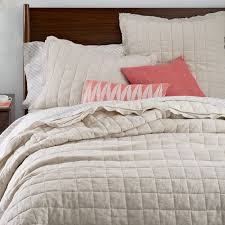 king size coverlets and quilts modern quilts coverlets west elm
