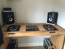Studio Monitor Desk by New Bespoke Cdj Desk Decks Pinterest