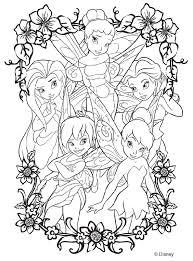 disney fairies coloring crayola ton