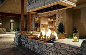 Backyard Fireplace Ideas Outdoor Fireplace Images Home Design Ideas