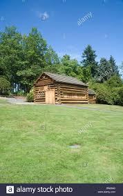 log cabin style building in park in crossroads bellevue