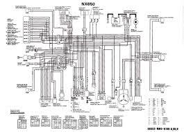 Honda Cr 125 Wiring Diagram Honda Nx650 Wiring Diagram Of The Electrical System 59296