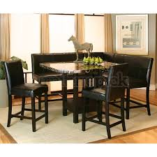 leather corner bench dining table set peaceful ideas corner dining table set creative design modern