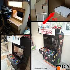 Building A Mame Cabinet Diy Nintendo Wii Arcade Machine