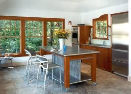 kitchen island on casters amazing kitchen island on wheels pertaining to medium size of