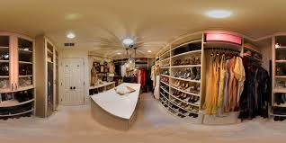 celebrity walk in closet design video and photos