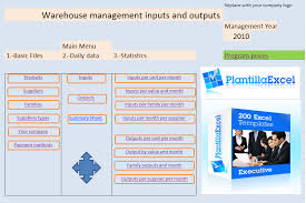 Excel Spreadsheet For Warehouse Inventory by Excel Warehouse Management