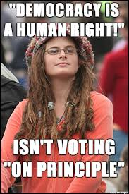 Voting Memes - i m a student in the uk and these people are everywhere meme on