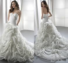 ruched corset bodice wedding dresses sweetheart neckline dropped