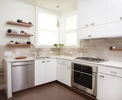 Backsplash Ideas For White Kitchens Kitchen Design Pictures Silver Desk Smooth Painted Backsplash For